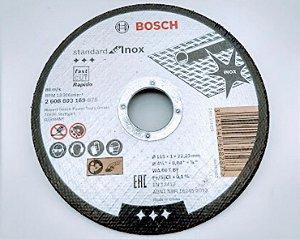 Disco Bosch Corte Inox Standard 115mm GR 60 - 2608603169