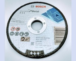 Disco Bosch Corte Standard Metal 115mm GR30 - 2608603164