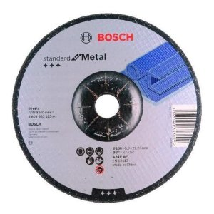 Disco De Desbaste 7'' 180mm Metal 2608603183 Gr24 Bosch