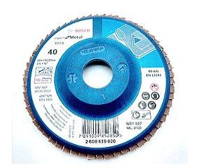 Disco Bosch Flap Expert GR40 115mm - 2608607361