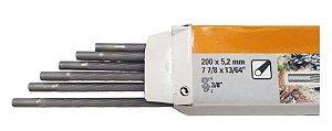 Lima Redonda Stihl 5,2 mm 13/64 P/ Motosserra Caixa Com 6 Un.