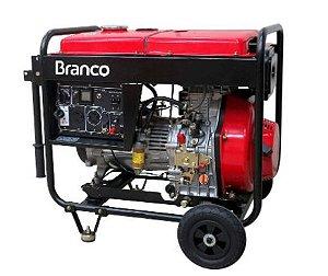 MOTOGERADOR BRANCO BD 8000 PE 13 CV