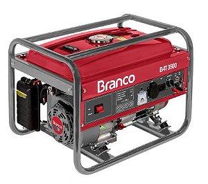 MOTOGERADOR BRANCO B4T-3500 220V