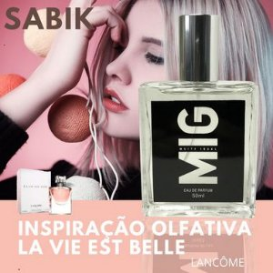 Perfume Sabik Inspiração Olfativa La Vie est belle 50 ML