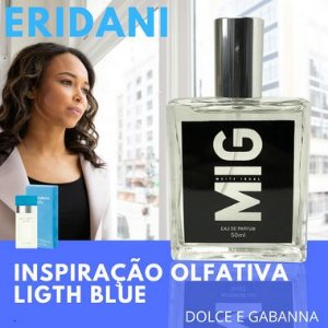 Perfume Eridani Inspirado no Ligth Blue 50ml