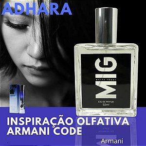 Perfume Adhara Inspirado no Armani Code 50ml