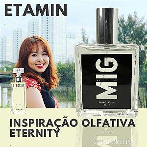 Perfume Etamin Inspirado no Eternity 50ml