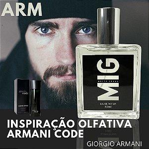 Perfume Arm Inspirado no Armani Code 50 ml