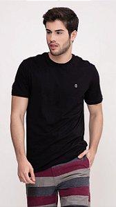 Camiseta Presidium manga curta basic preto