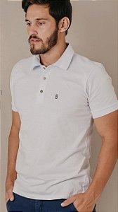 Camisa Polo MC Presidium Basic Meia Malha Branca