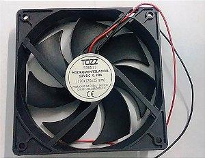 COOLER TOZZ MICROVENTILADOR 12V 0,28A