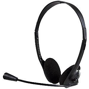 Headset P2 Office 10 preto 0010 Bright BT 1 UN