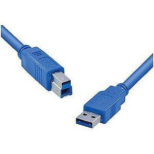 CABO PARA IMPRESSORA USB 3.0 AM x BM VINIK