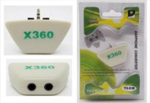 ADAPTADOR EARPHONE CONVERTER FOR X-BOX 360