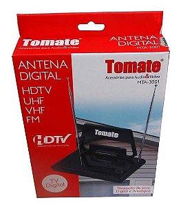 ANTENA DIGITAL HDTV / UHF / VHF E FM - TOMATE MTA-3001