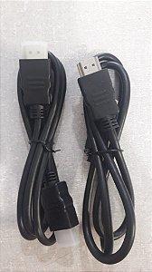 Cabo HDMI 90cm unidade
