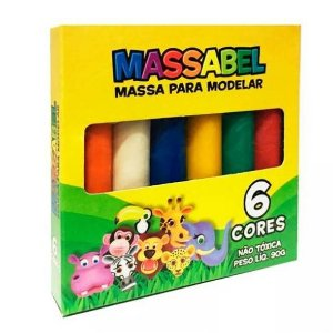 MASSINHA MASSABEE - 6 CORES - 90G