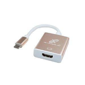 CABO ADAPTADOR TIPOC PARA HDMI - XCELL