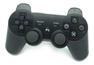 CONTROLE PLAY STATION 3 - DOUBLESHOCK - COM FIO