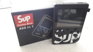 SUP GAME BOX 400 IN 1 PLUS - PRETO