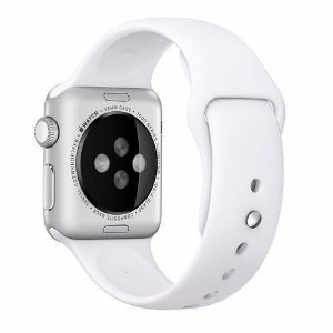Pulseira De Silicone Sport para Apple Watch 42/44mm - Branco