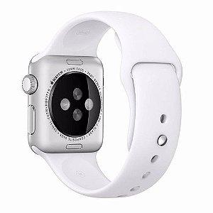 Pulseira De Silicone Sport para Apple Watch 42/44mm - Branco