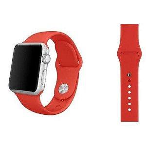 Pulseira De Silicone Sport para Apple Watch 42/44mm - Vermelho Carmesim