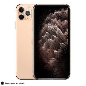 """iPhone 11 Pro Max Dourado, com Tela de 6,5"""", 4G, 512 GB e Câmera de 12 MP"""