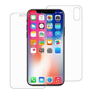 Kit Película Protetora Gel Frente + Traseira Verso para Apple iPhone XR, Tela 6.1 Polegadas