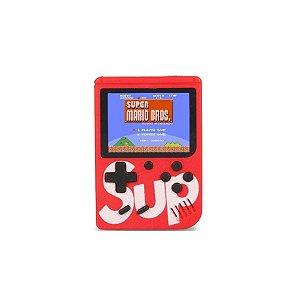 Mini Game Super Clássico 400 Jogos Retro Vermelho - SUP