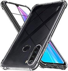 Capa Protetora Para Xiaomi Redmi Note 8T (Tela De 6.3 Polegadas) Case Transparente