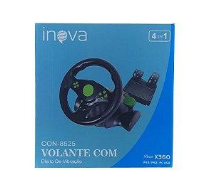 Controle Volante Para Jogos De Corrida Com Vibração Inova CON-8525