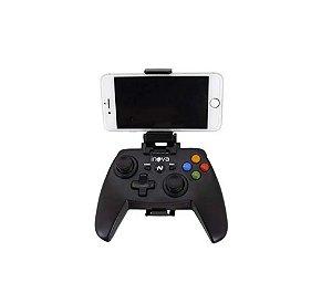 Controle Top Para Games De Ação Joystick Sem Fio Inova Con-142B (Cor Preto)