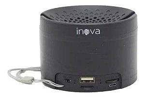 Caixinha De Som Portátil Sem Fio Bluetooth Inova RAD-B5324 (Preta)
