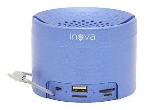 Caixinha De Som Portátil Sem Fio Bluetooth Inova RAD-B5324 (Azul)