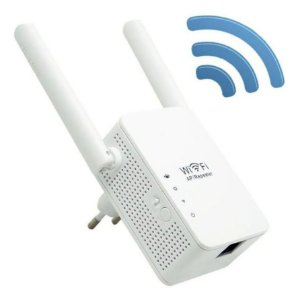 Receptor Repetidor De Sinal Wi-fi Wireless 1200mbps Sem Fio Inova ROU-6008