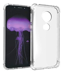 "Capa Anti Shock Motorola Moto G7 Plus 6.2"" 2019 Cell Case Anti-Impacto Transparente"