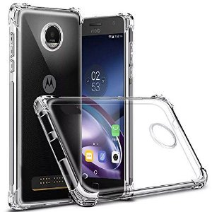 Capa Anti Shock para Moto Z3 Play Cell Case Transparente