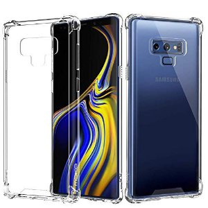 Capa Anti Shock Samsung Galaxy Note 9 Transparente Bordas Reforçadas