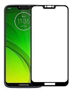 Película Blindada 5D Nano Gel Flexível Motorola G7 Play Bordas Pretas