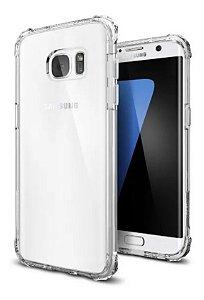 Capa Anti Shock Para Samsung Galaxy S6 Edge Transparente