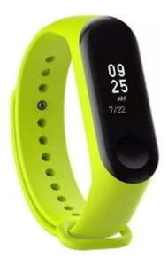 PULSEIRA EXTRA PARA XIAOMI MI BAND 4 - NEW VERSION (VERDE CLARO)