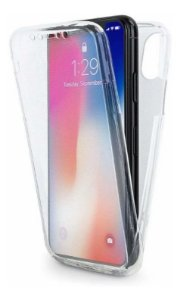 Capa Anti Impacto 360 Frente e Verso Silicone Transparente Iphone XR