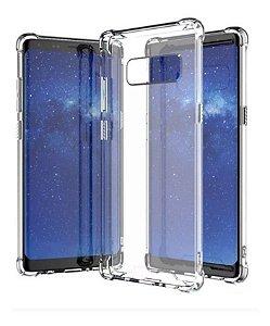 Capa Antishock Transparente + Pelicula De Gel 5d Samsung Galaxy Note 8