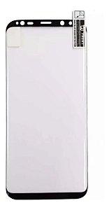 Película De Nano Gel 5d Samsung Galaxy S8 Bordas Pretas