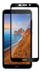 Película De Nano Gel 5D Para Xiaomi Redmi 7a Bordas Pretas