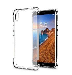 Capa Antishock Transparente + Pelicula 5D Nano Gel para Xiaomi Redmi 7A