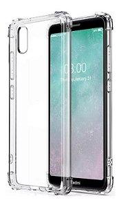 Capa Antishock Transparente + Película De Vidro 3D Xiaomi Redmi 7A
