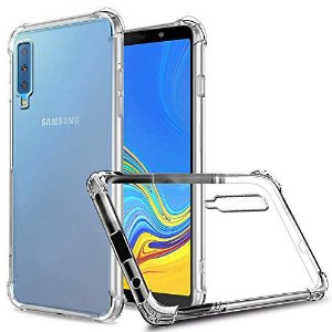 Capa Case Anti Shock Para Samsung Galaxy A7 2018 Transparente