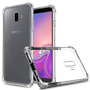 Capa Anti Shock Transparente Para Samsung Galaxy J6 Plus/Prime 2018